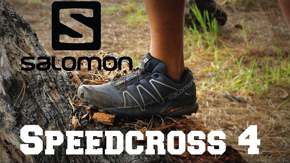 87436b82 Кроссовки для бездорожья отличный выбор Salomon Speedcross 4